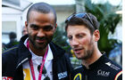 Tony Parker - Romain Grosjean - Formel 1 - GP USA - 1. November 2014