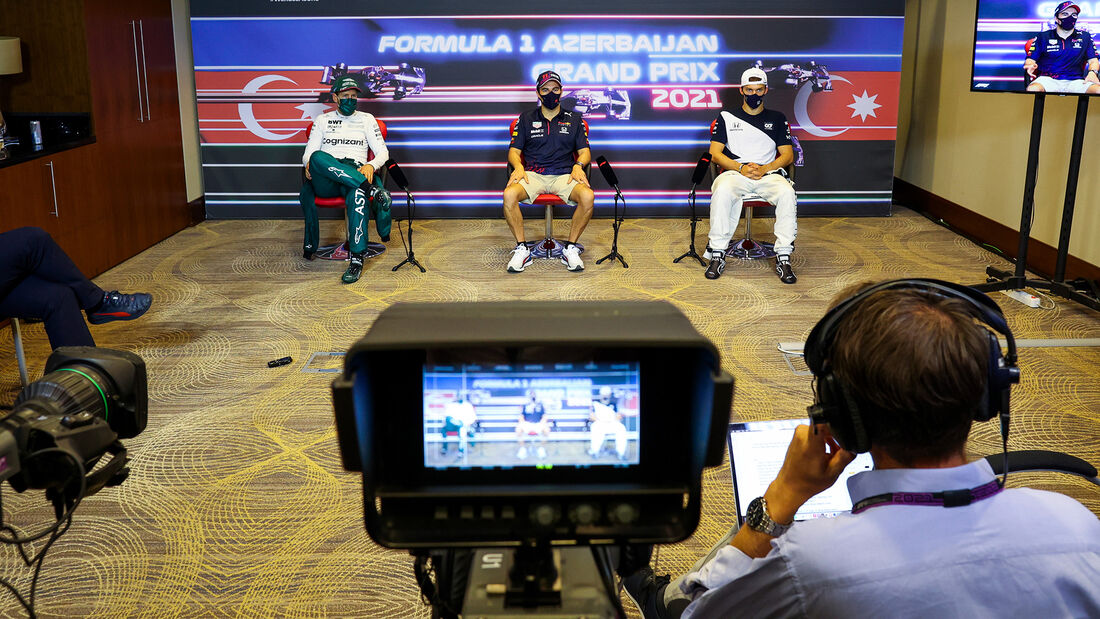 Top 3 - Formel 1 - GP Aserbaidschan 2021