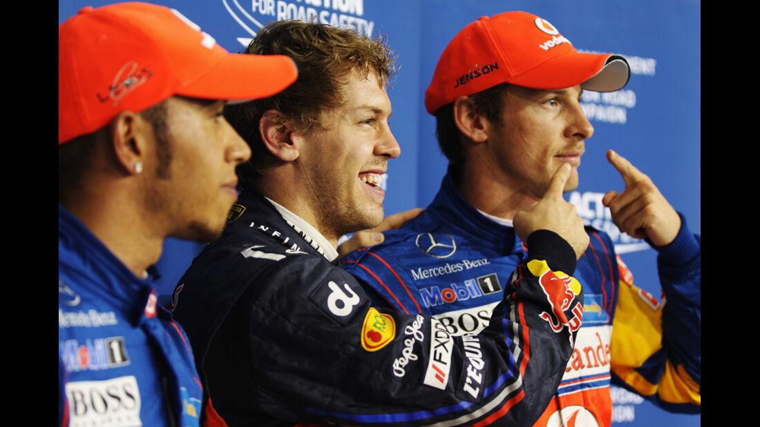 Top 3 - GP Abu Dhabi - Qualifying - 12.11.2011