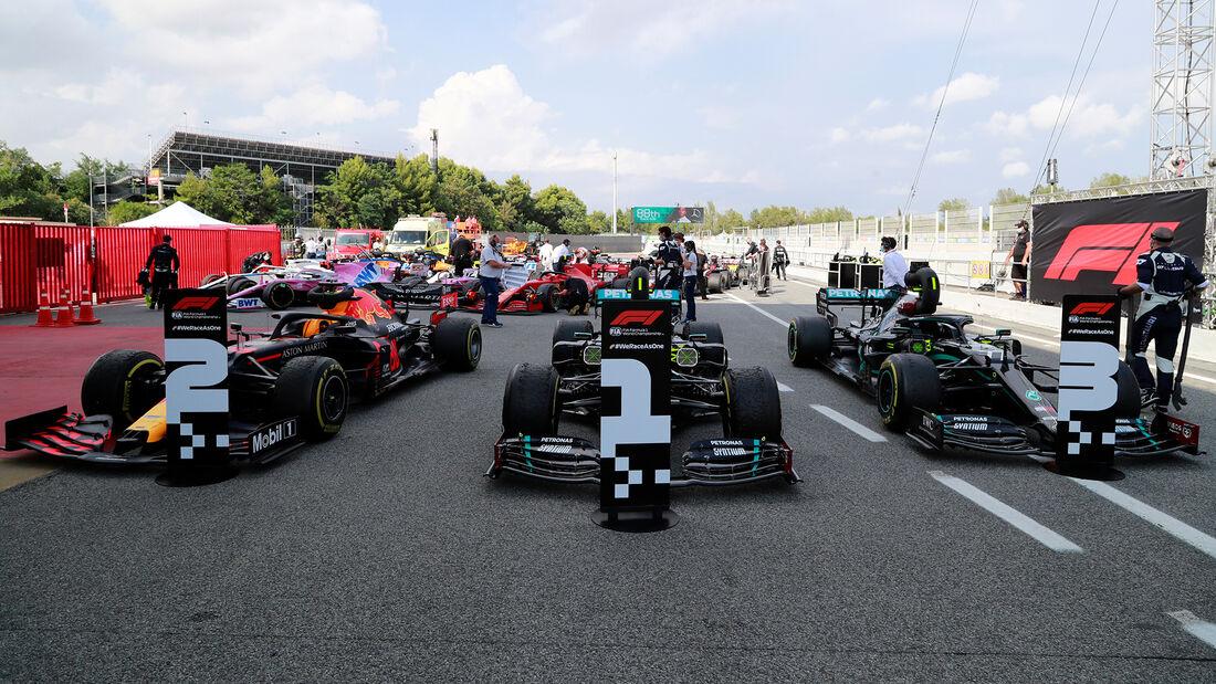 Top 3 - GP Spanien 2020