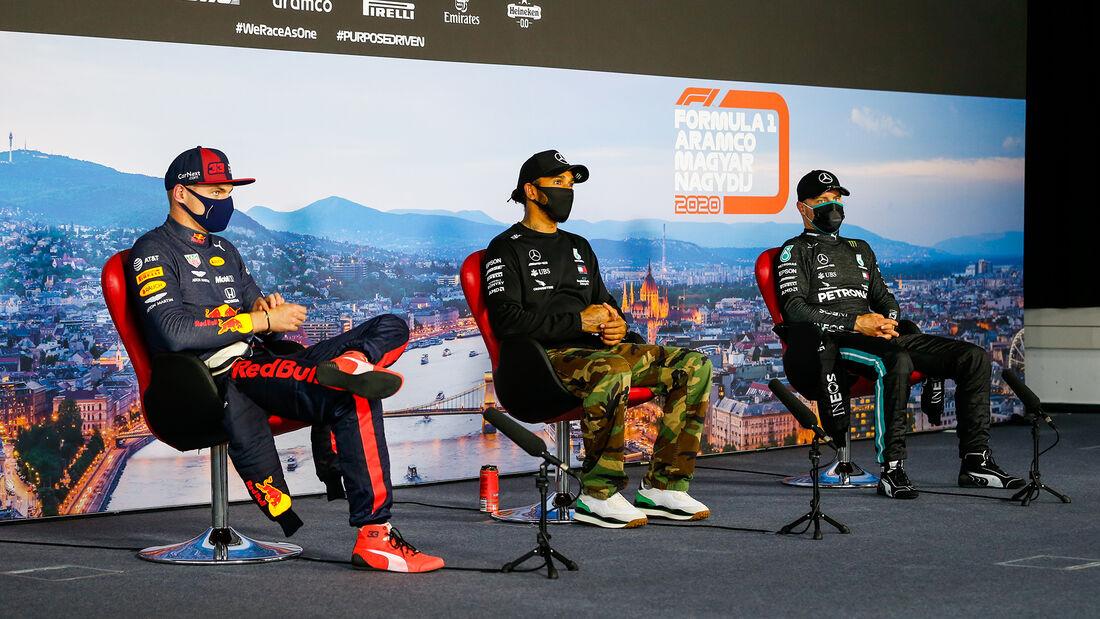 Top 3 - GP Ungarn 2020