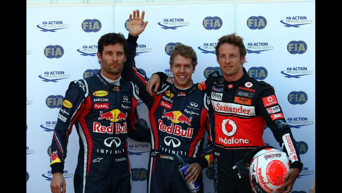 Top 3 Quali GP Monaco 2011