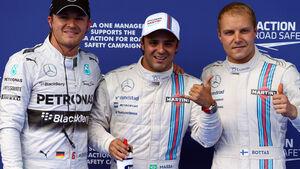 Top 3 - Quali - GP Österreich 2014