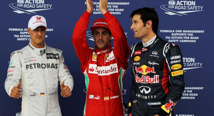 Top 3 Qualifying GP England 2012