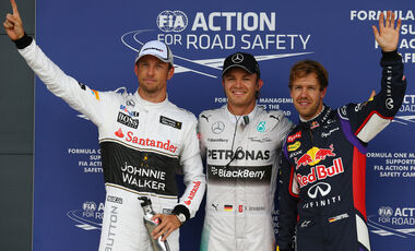 Top 3 - Qualifying - GP England  - 2014