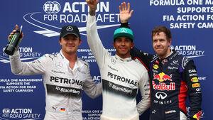 Top 3 - Qualifying GP Malaysia 2014