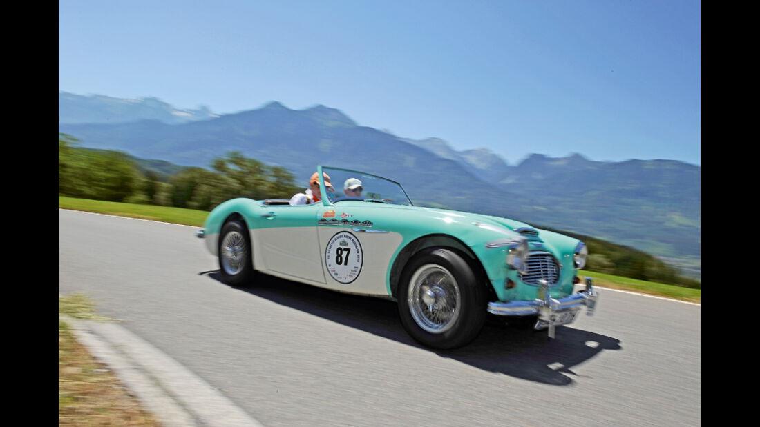 Top-Autos der Silvretta Classic