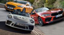 Top Sportwagen 2019 Aufmacher