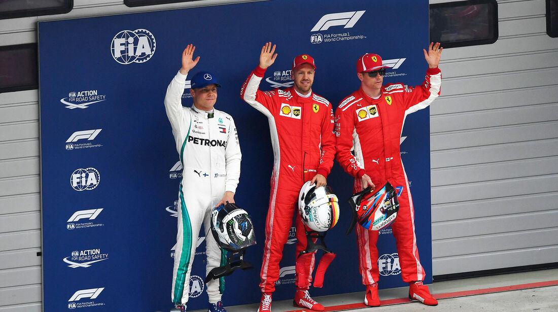 Top3 - Formel 1 - GP China - Shanghai - 14. April 2018