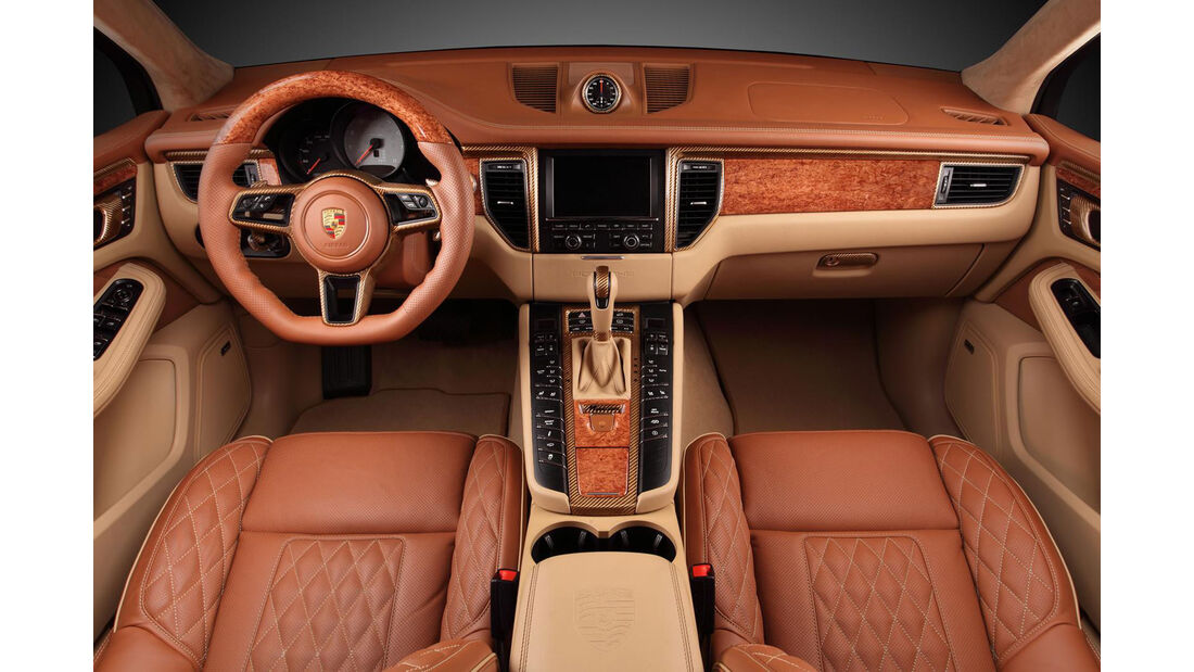 Topcar - Porsche Macan Ursa Aurum Metallic - Tuning
