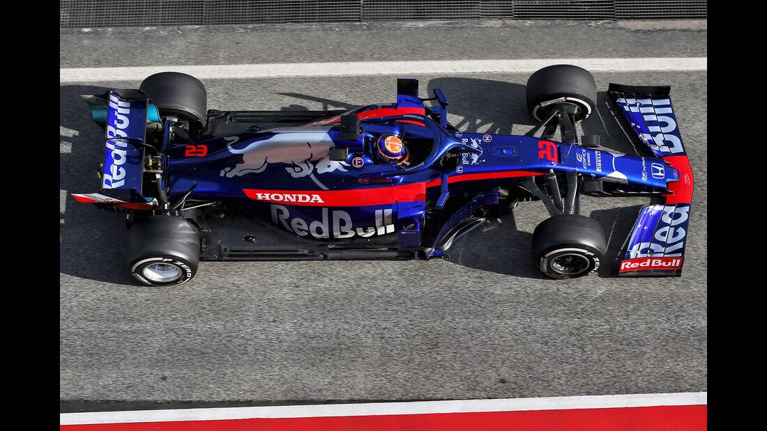 Toro Rosso - Abmessungen - Barcelona-Test 2019