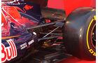 Toro Rosso Auspuff Jerez Test 2012