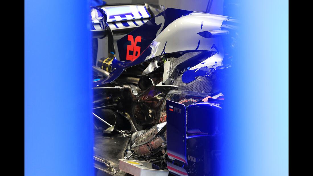 Toro Rosso - Barcelona - F1-Test - 18. Februar 2019