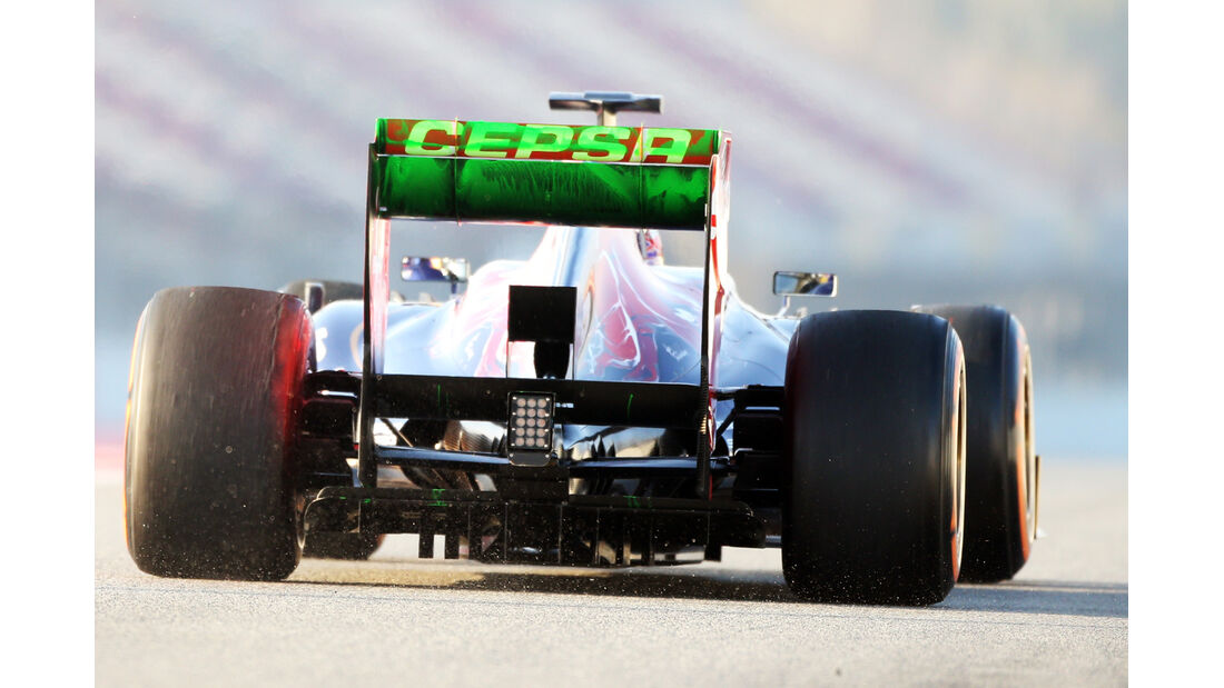 Toro Rosso - Barcelona F1 Test 2013