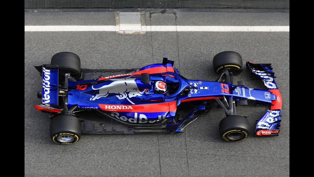 Toro Rosso - Barcelona F1-Test 2018