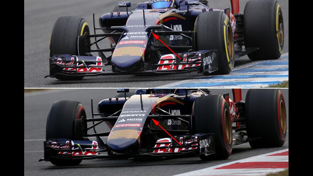 Toro Rosso - Barcelona-Test - Technik - Formel 1 2015