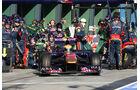 Toro Rosso Boxenstopp 2011