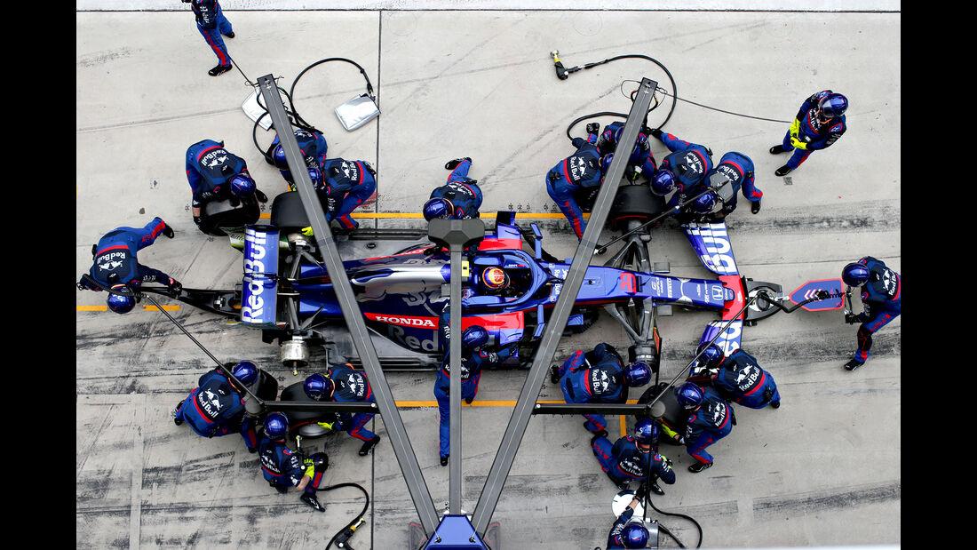 Toro Rosso - Boxenstopp - Formel 1 - 2019