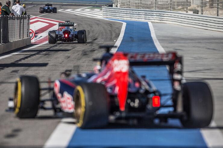 Toro Rosso - Danis Bilderkiste - Bahrain-Test 2014