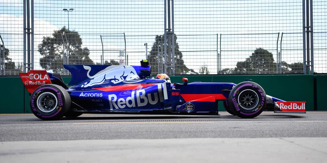 Toro Rosso - F1-Abmessungen - 07/2017