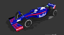Toro Rosso - F1-Concept 2021 - Livery by Tim Holmes