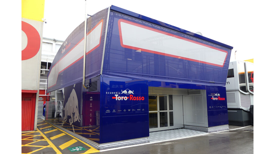 Toro Rosso - F1-Motorhomes - GP Spanien 2018