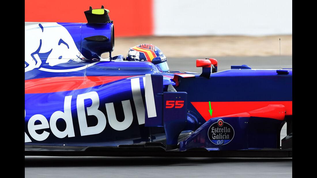 Toro Rosso - F1-Technik - GP England 2017 - Formel 1