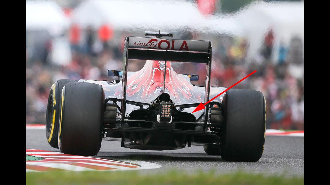 Toro Rosso - F1 Technik - GP Japan 2016