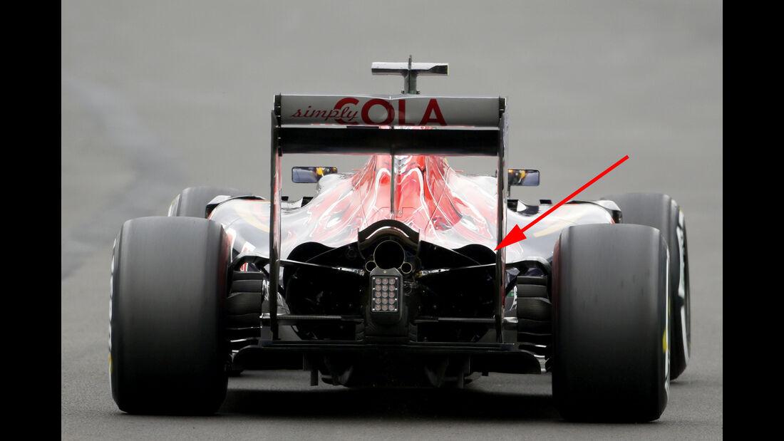 Toro Rosso - F1 Technik - GP Mexiko 2016