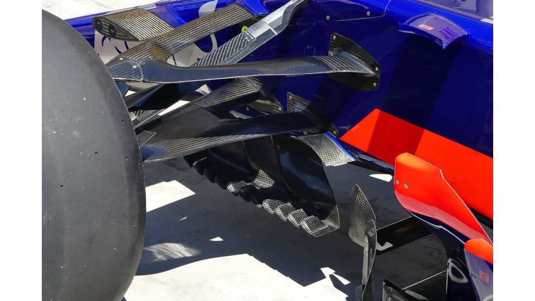 Toro Rosso - F1-Technik - GP Ungarn 2017 - Formel 1