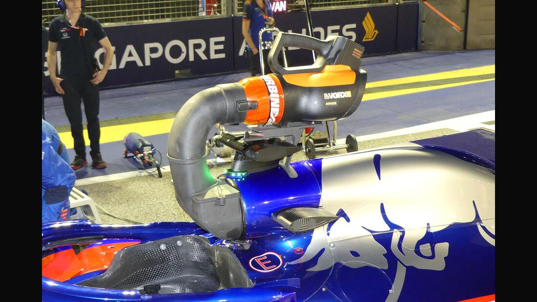 Toro Rosso - F1-Technik - Lüfter - GP Singapur 2018