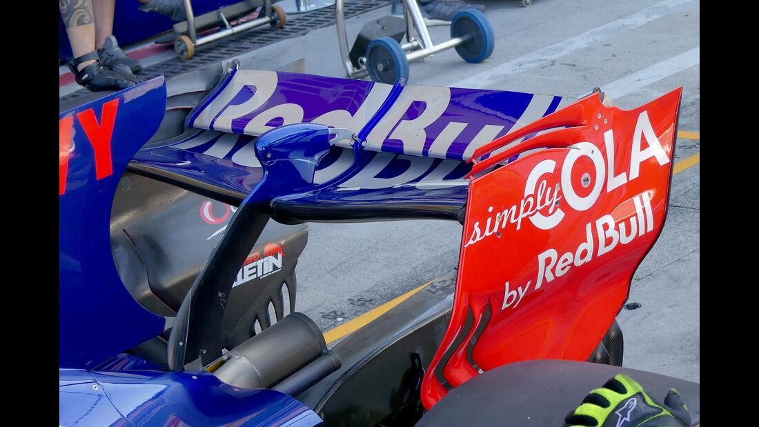 Toro Rosso - F1-Technik - Upgrades - GP Belgien / GP Italien 2017