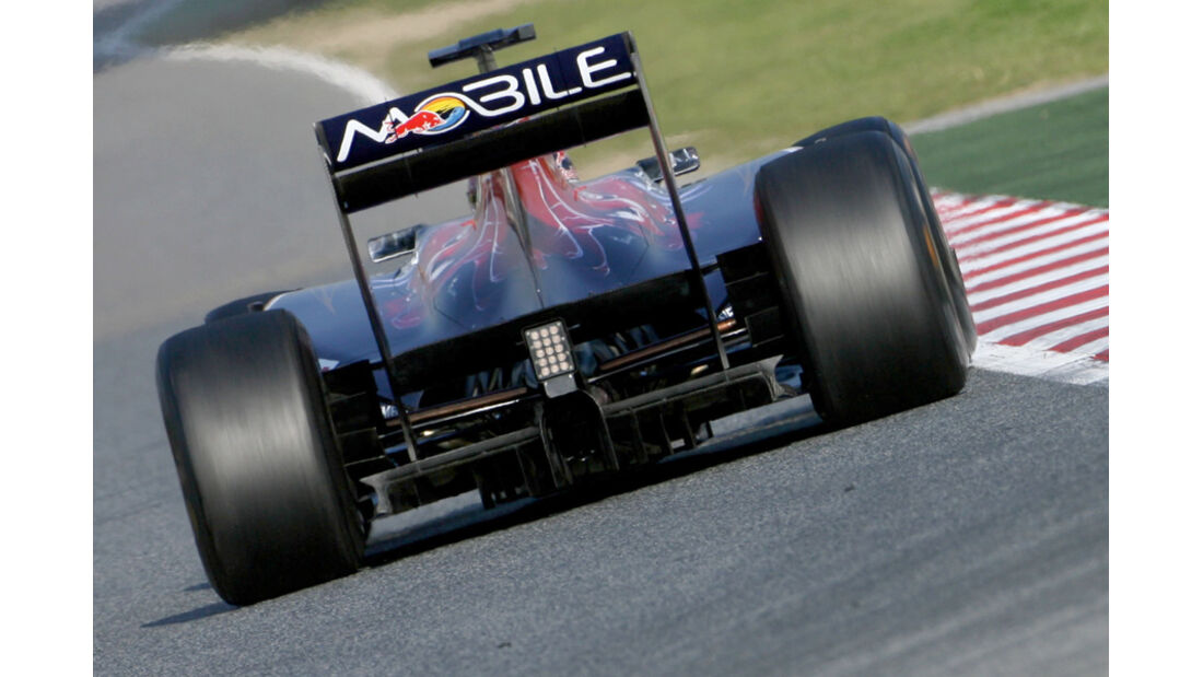 Toro Rosso F1 Test 2011