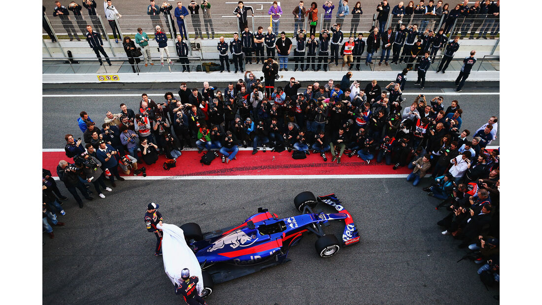 Toro Rosso - F1-Test - Barcelona - 2017
