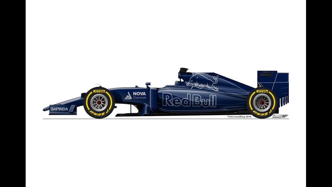 Toro Rosso - Formel 1 Design Concepts 2016
