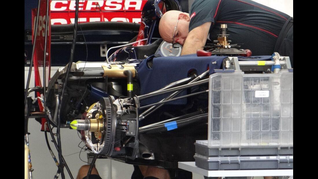 Toro Rosso  - Formel 1 - GP Abu Dhabi - 01. November 2012