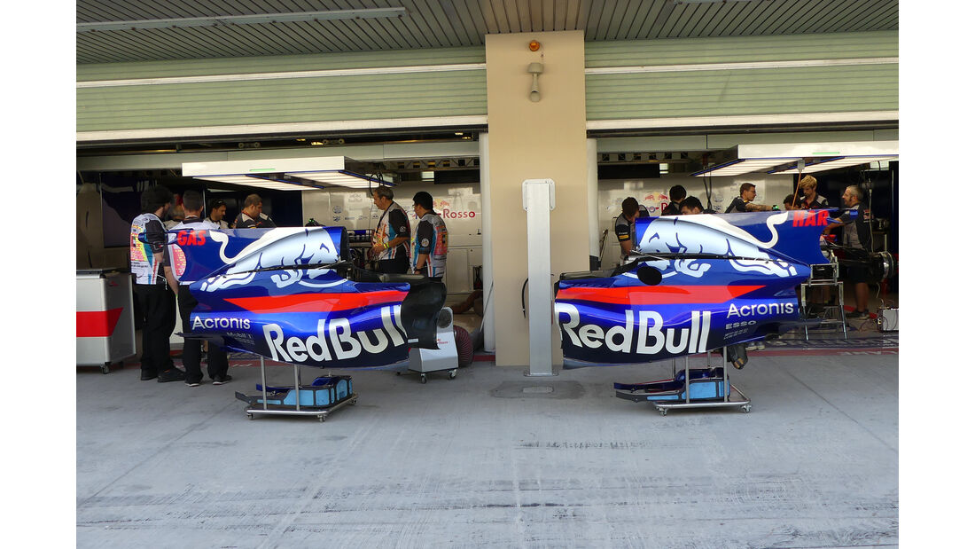 Toro Rosso - Formel 1 - GP Abu Dhabi - 23. November 2017