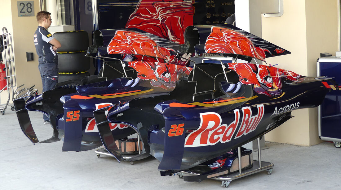Toro Rosso - Formel 1 - GP Abu Dhabi - 24. November 2016