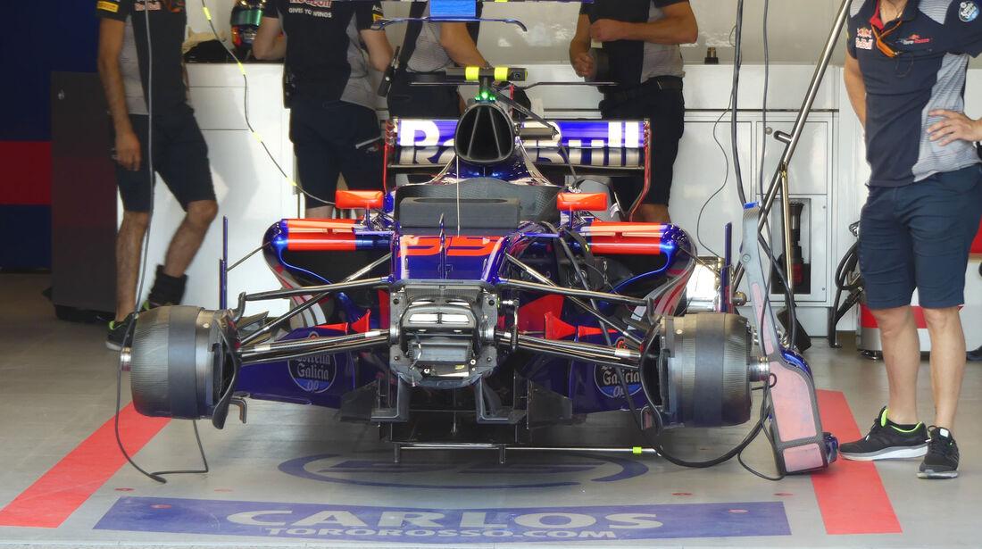 Toro Rosso - Formel 1 - GP Aseerbaidschan 2017 - Training - Freitag - 23.6.2017