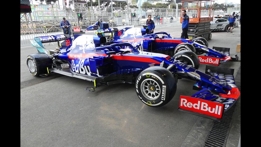 Toro Rosso - Formel 1 - GP Aserbaidschan - Baku - 25. April 2019