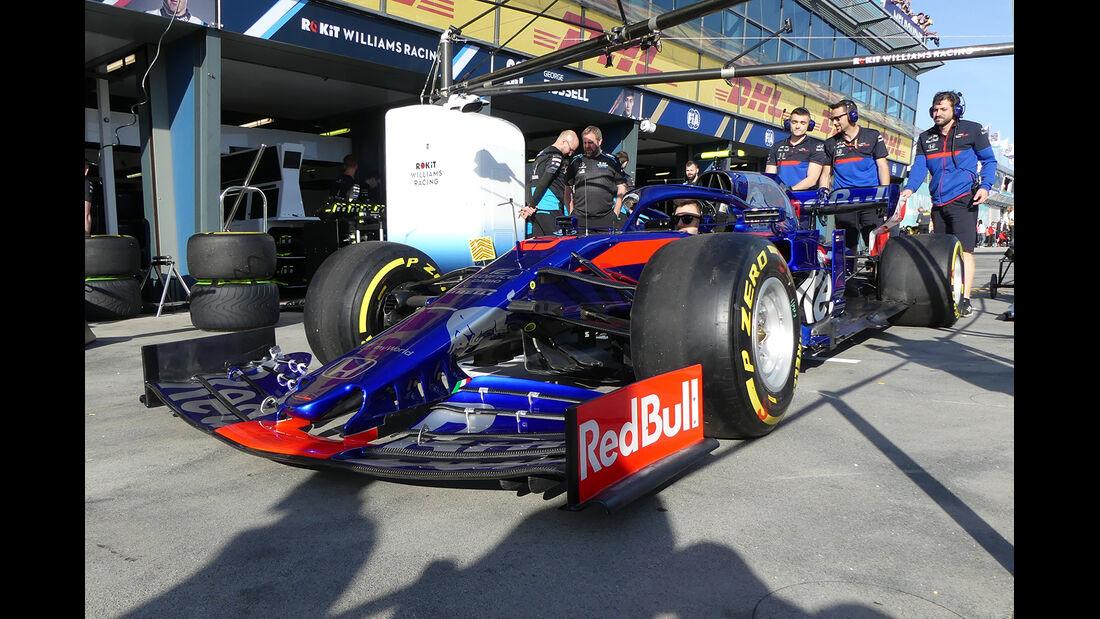 Toro Rosso - Formel 1 - GP Australien - Melbourne - 14. März 2019