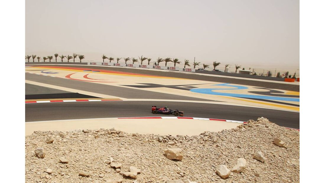 Toro Rosso - Formel 1 - GP Bahrain - 21. April 2012