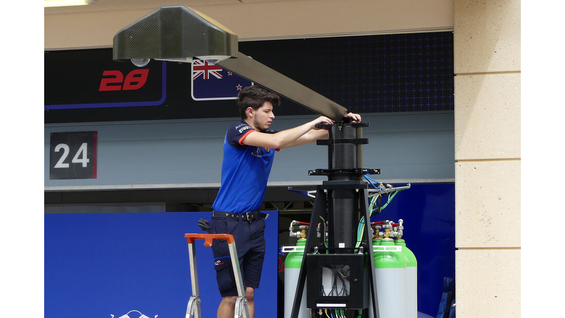Toro Rosso - Formel 1 - GP  Bahrain - 4. April 2018