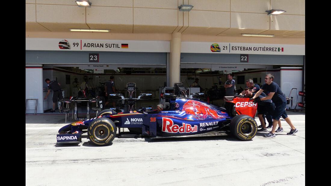 Toro Rosso - Formel 1 - GP Bahrain - Sakhir - 5. April 2014
