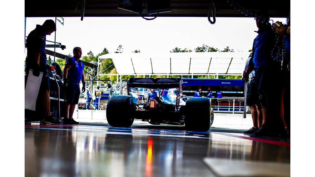Toro Rosso - Formel 1 - GP Belgien 2018
