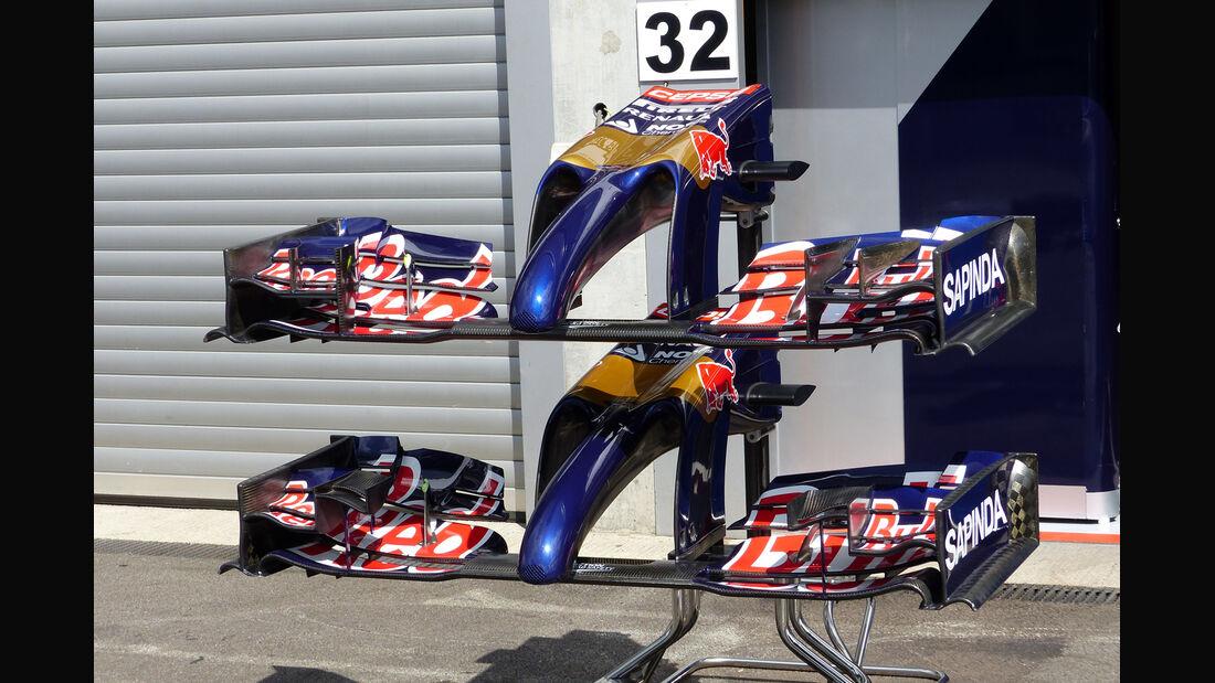 Toro Rosso - Formel 1 - GP Belgien - Spa-Francorchamps - 20. August 2014
