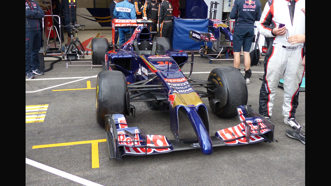 Toro Rosso - Formel 1 - GP Belgien - Spa-Francorchamps - 21. August 2014