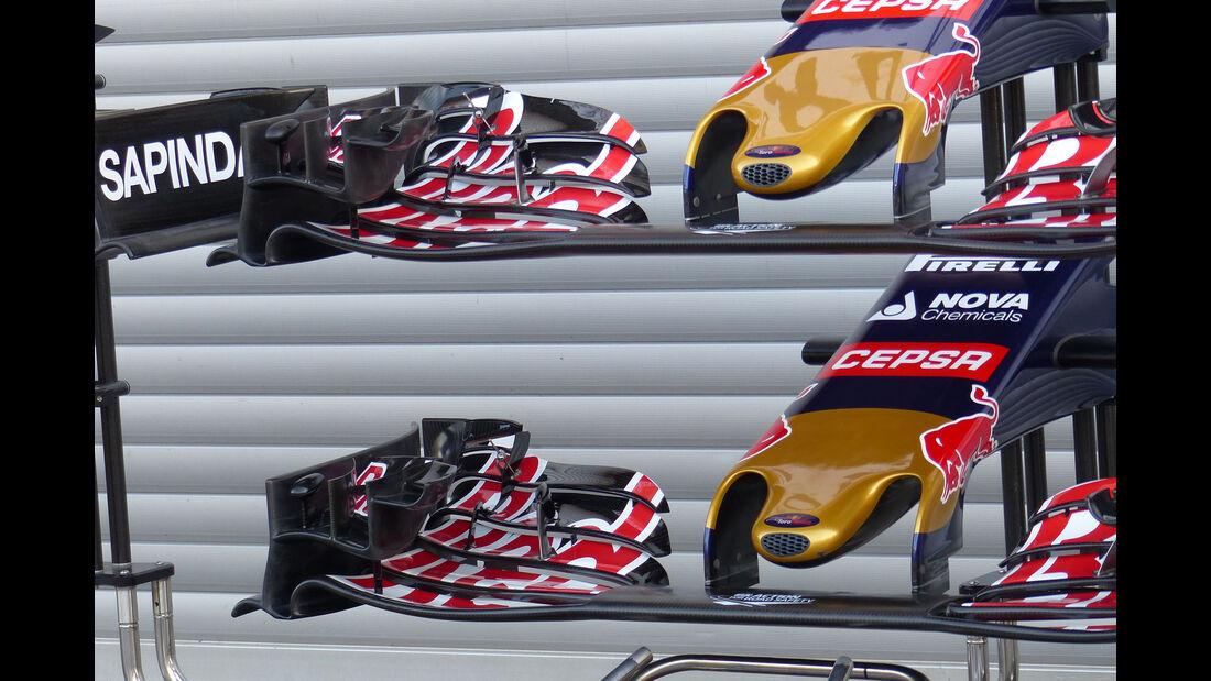 Toro Rosso - Formel 1 - GP Belgien - Spa-Francorchamps - 21. August 2015