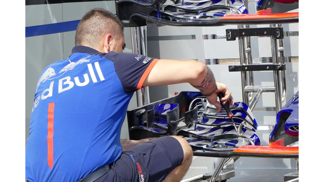 Toro Rosso - Formel 1 - GP Belgien - Spa-Francorchamps - 22. August 2018