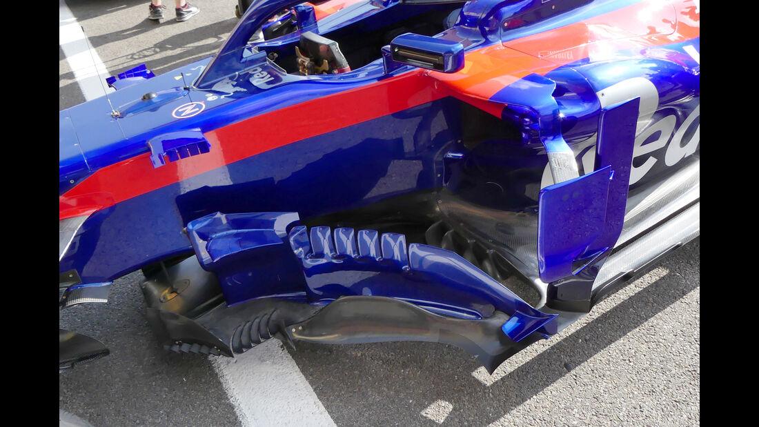 Toro Rosso - Formel 1 - GP Belgien - Spa-Francorchamps - 23. August 2018